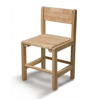 Детский стул из дерева 30х30см SportBaby (Baby-1)