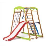 Детский спортивный комплекс 132х85х130см SportBaby (BabyWood Plus 2)