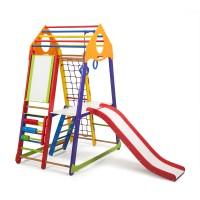 Детский спортивный комплекс 132х85х170см SportBaby (BambinoWood Color Plus 3)