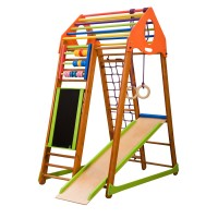 Детский спортивный комплекс 132х85х170см SportBaby (BambinoWood Plus)