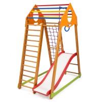 Детский спортивный комплекс 132х85х170см SportBaby (BambinoWood Plus 1)