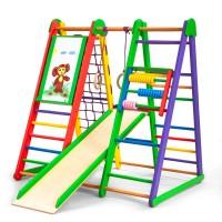 Детский спортивный уголок 130х100х130см SportBaby (Эверест)