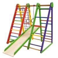 Детский спортивный уголок 130х100х130см SportBaby (Эверест 3)