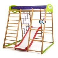 Детский спортивный комплекс 132х124х130см SportBaby (Карамелька Plus 1)