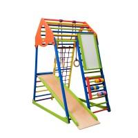 Детский спортивный комплекс 132х85х150см SportBaby (KindWood Color Plus)