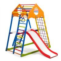 Детский спортивный комплекс 132х85х150см SportBaby (KindWood Color Plus 2)