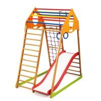 Детский спортивный комплекс 132х85х150см SportBaby (KindWood Plus 1)