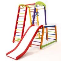 Детский спортивный комплекс 130х130х150см SportBaby (Кроха-1 Plus 1-1)