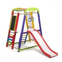 Детский спортивный комплекс 132х85х150см SportBaby (Кроха-1 Plus 3)