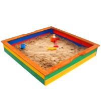 Детская песочница 1,45х1,45м SportBaby (Песочница-25)