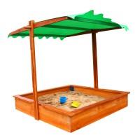 Детская песочница 1,45х1,45м с навесом SportBaby (Песочница-27)