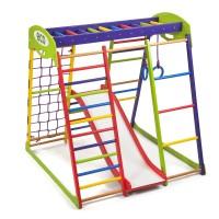 Детский спортивный комплекс 132х124х130см SportBaby (Юнга Plus 1)