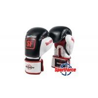 Боксерские перчатки SportForce с антибактериальным покрытием SF-BG01