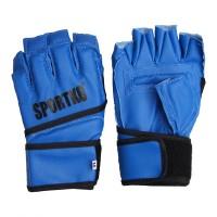 Перчатки с открытыми пальцами кожаные Sportko (ПД-4)