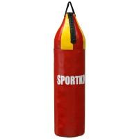 Боксерский мешок из ПВХ Шлемовидный Sportko 80см (МП7)
