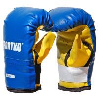 Боксерские перчатки из кожвинила Sportko 4 oz (ПД2-4)