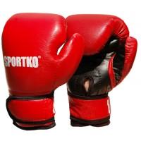 Боксерские перчатки из кожвинила Sportko 6 oz (ПД2-6)