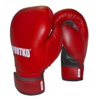Боксерские перчатки из кожвинила Sportko 7 oz (ПД2-7)