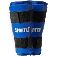 Защита голени из кожвинила Sportko (332)