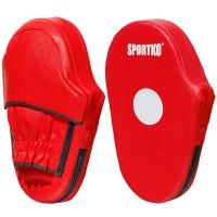 Лапы боксерские из кожвинила Sportko (ЛапыПД3)
