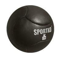 Мяч Медбол из кожи Sportko 3 - 4 кг (МячКож3-4)