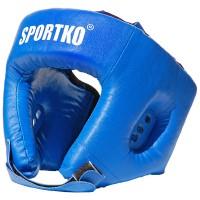 Шлем боксерский из кожвинила Sportko (ОД2)