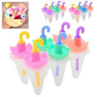 Формы (формочки) для мороженого (кулинарии) леденцов пластиковые для дома 6шт Stenson (R84711)