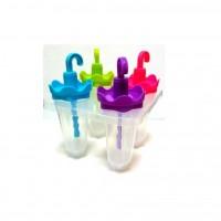 Формы (формочки) для мороженого (кулинарии) леденцов и льда пластиковые для дома 4шт Stenson (R21137)