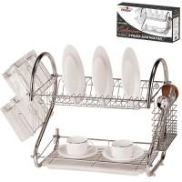 Сушка (сушилка) для посуды Salerno l-53см Stenson (MH-0318)