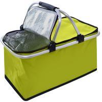Термосумка (сумка-холодильник, термобокс) для еды и бутылочек с ручками 30л OSPORT (MH-3078)
