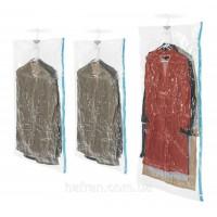 Вакуумный пакет (чехол) для хранения вещей (одежды) с вешалкой 67х110см (R26102)