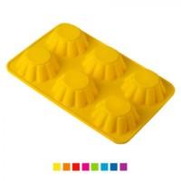 Форма для выпечки (выпекания) кексов (кексница) силикон Stenson Кексы (HH-337)