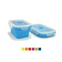 Термос (судок) для еды (контейнер) пищевой складной 21.5х14х7.2см, 1.3л Stenson (HH-693)