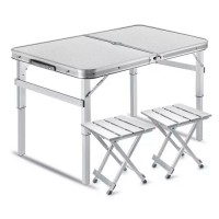 Туристический стол раскладной трансформер походной для кемпинга и рыбалки +4 стула Stenson (MH-3303)