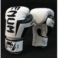 Перчатки боксерские PU на липучке VENUM 8-12 унций (BO-5698)