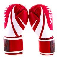 Боксерские перчатки из кожи PU 10 унций Venum (VM2145-10R)