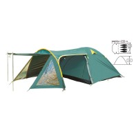 Палатка кемпинговая 4-х местная Zelart FRT-207-4