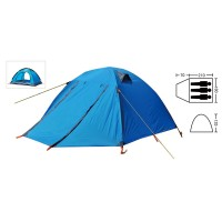Палатка кемпинговая 3-х местная Zelart SY-А15