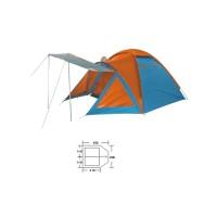 Палатка универсальная 3-х местная Zel BL-1009
