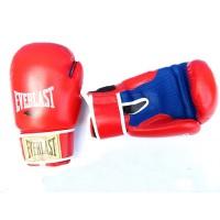 Перчатки боксерские Кожа Everlast VL-30121-L-R LION STAR