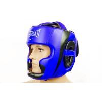 Шлем боксерский (с полной защитой) кожа ELAST BO-5242