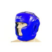 Шлем боксерский (с полной защитой) кожа ELAST ZB-5007E
