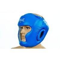 Шлем боксерский (с полной защитой) кожа ELAST ME-0147
