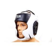 Шлем боксерский (с полной защитой) кожа VENUM BO-5246