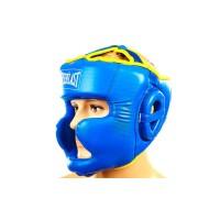 Шлем боксерский (с полной защитой) PU ELAST BO-6001
