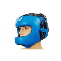 Шлем боксерский (с бампером) кожа ELAST BO-5240