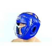 Шлем для единоборств (с прозрачной маской) FLEX ELAST BO-5209