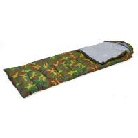 Спальный мешок одеяло с капюшоном кокон камуфляж Zel (SY-4051)