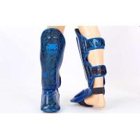 Защита для голени и стопы Муай Тай, ММА, Кикбоксинг VENUM FUSION VL-5797-B