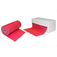 Резинка для фитнеса и спорта (лента эспандер) эластичная в рулоне 25м Zel (FI-4987-25)